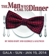 The Man Who Came to Dinner - 2014 Gala